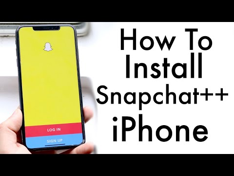 EASILY Install Snapchat++ On Any IPhone! (2020)