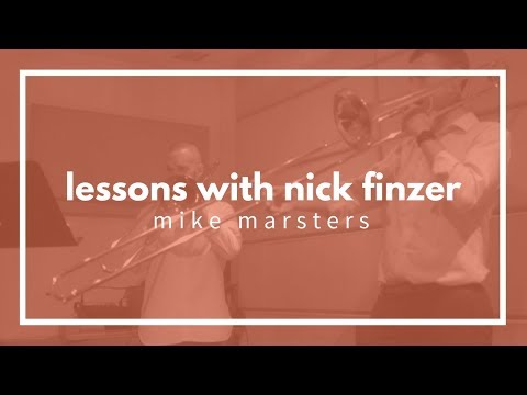 Lesson with Nick - Mike Marsters - Rochut, Solar, Sound Concept, Learning Jazz Tunes, No Real Book
