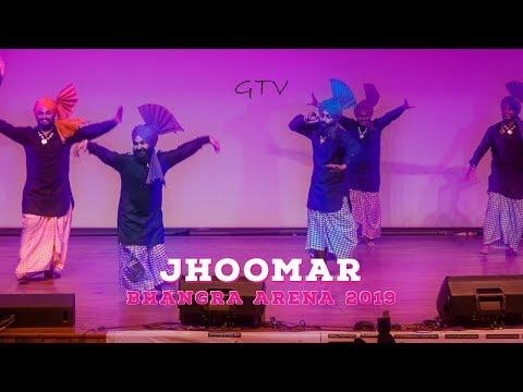 Team Bhangra Arena Jhoomar Performance – Bhangra Arena 2019