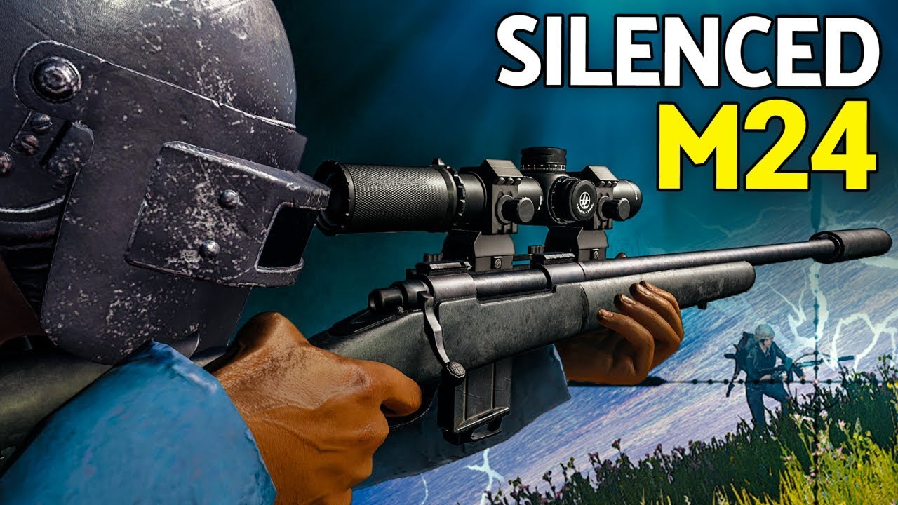 Pubg Wallpaper M24: Suppressed M24 - The Best Sound In The Game! - YouTube