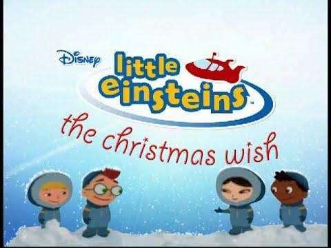The Christmas Wish.Little Einsteins The Christmas Wish Trailer