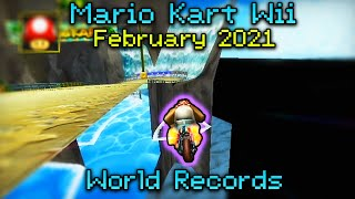 Mario Kart Wii - World Record Review - February 2021
