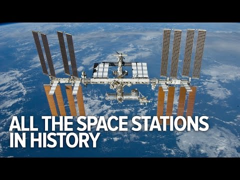 All The Space Stations In History