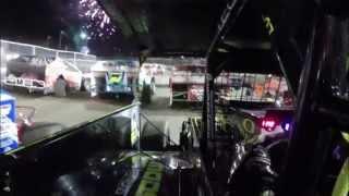 Course à bord de la voiture de Brett Hearn lundi 21 juillet 2014 à l