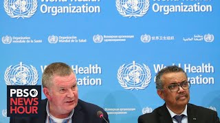 WATCH: The World Health Organization holds news conference on novel coronavirus