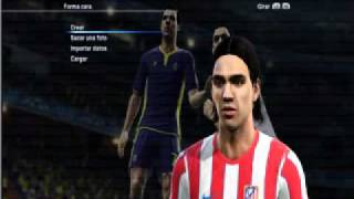 PES 2012- FALCAO NEW FACE!!! Thumbnail