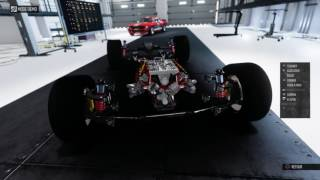 Démonstration moteur en V de corvette stingray 2014