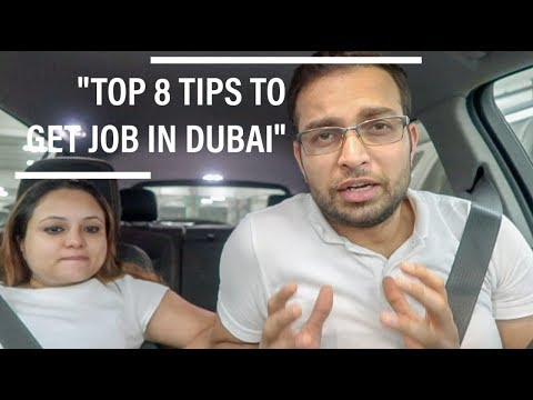 How To Get Job In Dubai | Shared My 9 Years Of Experience