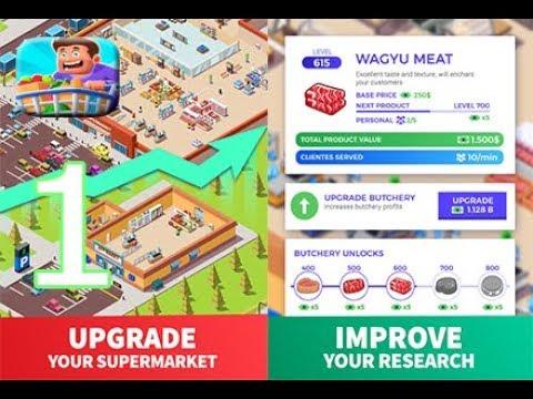 Idle Supermarket Tycoon Shop - Gameplay Walkthrough Part 1 ...
