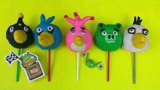 Lollipop Play-Doh Surprise Eggs Angry Birds Karts Go Toys Thumbnail