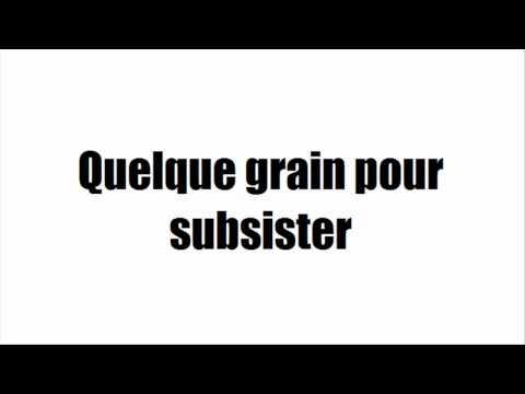 [Fables] [Karaoké] La cigale et la fourmi