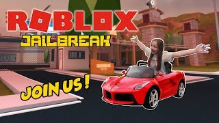 ROBLOX LIVE STREAM !! - Jailbreak, Phantom Force and much more ! - COME JOIN THE FUN !!! - #131