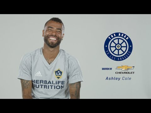 Ashley Cole's road to LA - driven by Chevrolet