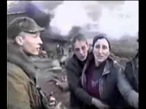 Как чеченцы убивали русских солдат видео