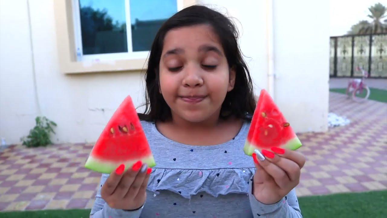 تعليم اسماء و الوان فواكه learn colors of fruit