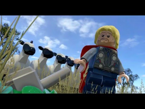 LEGO Marvel's Avengers Walkthrough Part 6 - Avengers Assemble