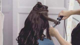 Видеоурок красоты: пышные голливудские локоны