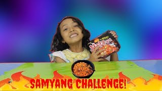 SAMYANG CHALLENGE Kuat Ga Makan 1 Bungkus Samyang Sendiri
