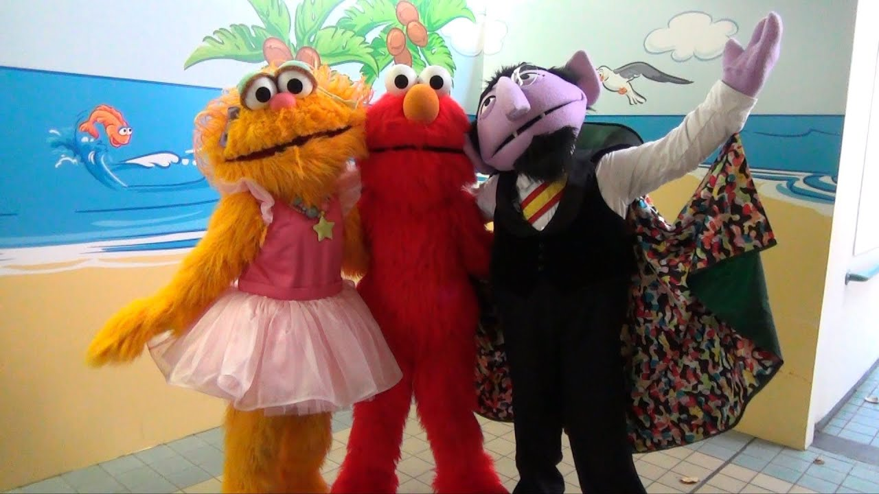 The count elmo zoe meet and greet seaworld after sesame streets youtube premium m4hsunfo