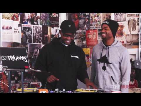 Mixing East Coast Vibe & West Coast Beats with King Bach & DJ Tay James | We Know The DJ