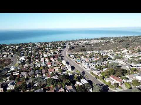 4K Drone View of Del Mar Heights