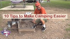 RV Tips: 10 Ways to Make Camping Easier! | RV Texas