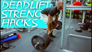 GREAT EXERCISES TO INCREASE DEADLIFT & LOWER BACK STRENGTH