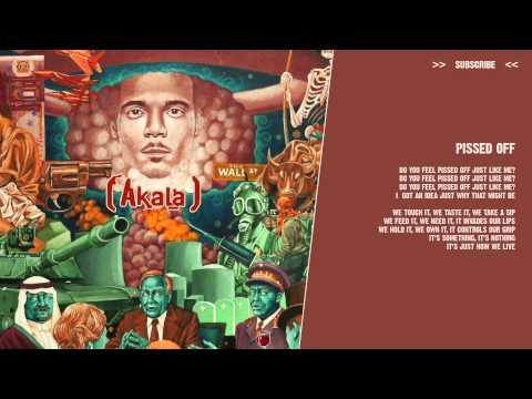 Akala - Pissed Off - ( lyric video )