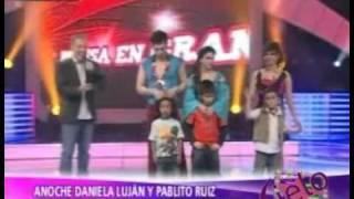 Daniela Luján en Capilla [A. Espectaculos 05/10/2011]