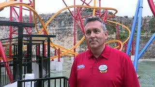 Wonder Woman Golden Lasso Coaster - Jeffrey Siebert interview Six Flags Fiesta Texas