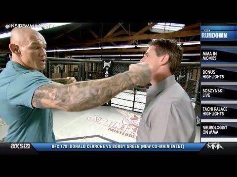 Ron Kruck Takes a Punch From Krzysztof Soszynski