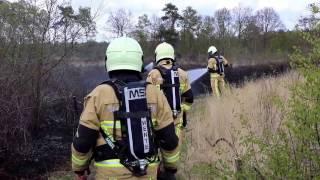 29-04-2017 Natuurbrand in natuurgebied de bergvennen in Lattrop