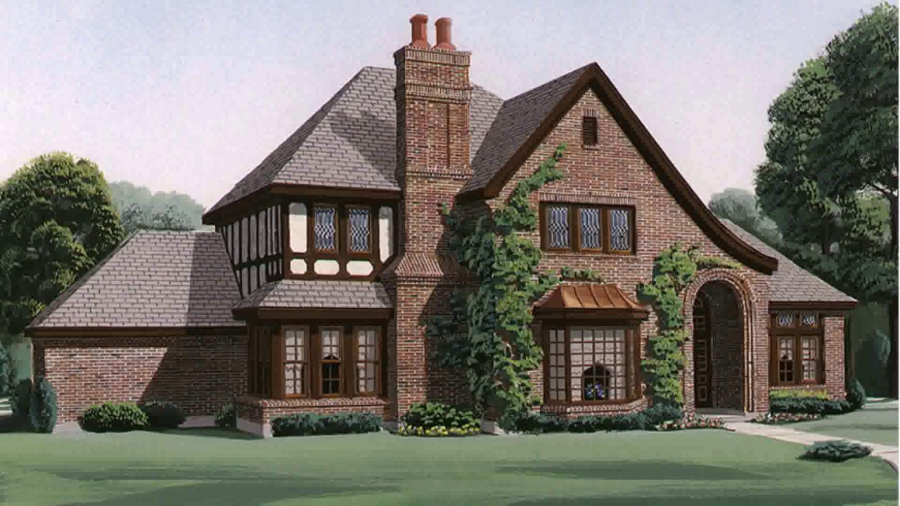 Tudor style house inside youtube for Tudor house