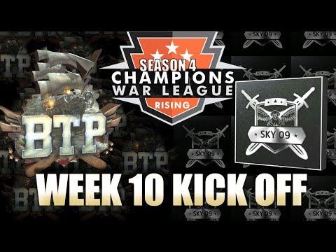 BostonTeaParty VS sky09 - CHAMPIONS WAR LEAGUE - Clash of Clans
