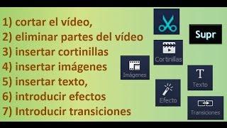 Editando videos con Wondershare Video Editor 1