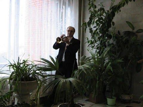 Trumpeter Klimovsk music school.