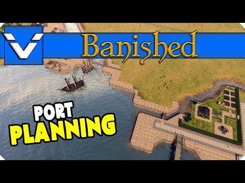 Let's Design: Banished | Port Planning | Gameplay / Let's Play | Part 32