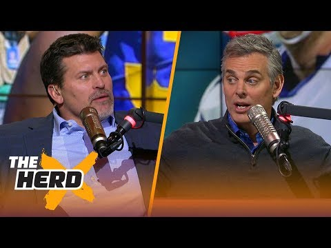 Mark Schlereth and Colin on the MVP race & which QBs are Super Bowl bound | THE HERD