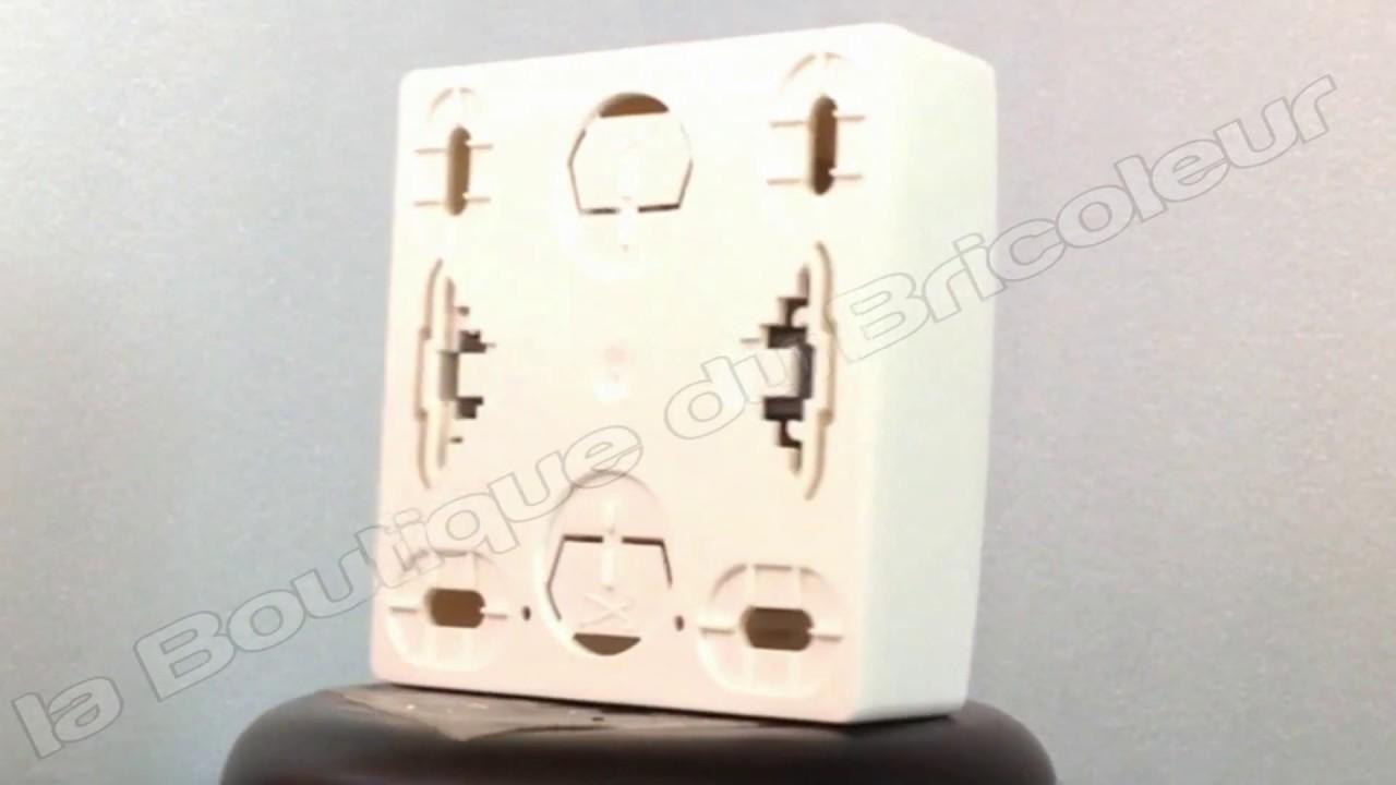 interrupteur pour volets roulants appareillage saillie complet blanc 86013 la boutique du. Black Bedroom Furniture Sets. Home Design Ideas