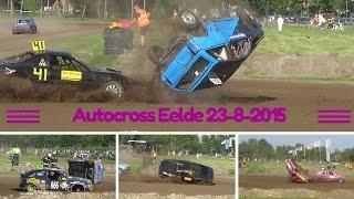 Autocross Eelde 23-8-2015 Crashes