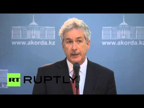 Kazakhstan: Burns talks territorial integrity and WTO in Astana