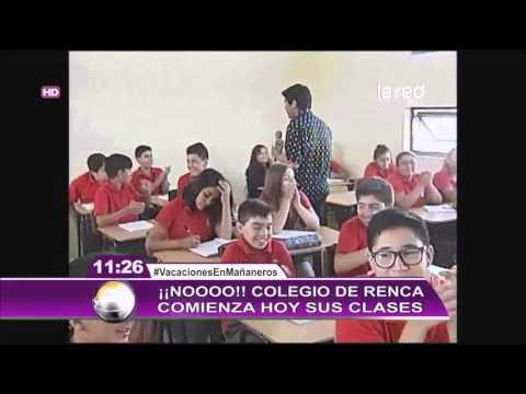 Colegio en Renca ya inició las clases