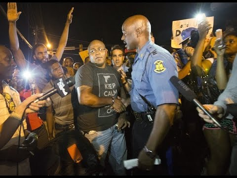 Is Ferguson police captain Ron Johnson a ploy to manipulate the minds of black people?