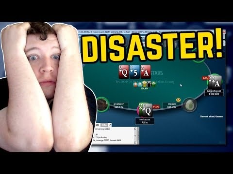 DISASTER IN THE $5K MAIN EVENT!!