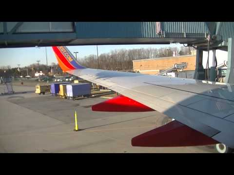 Southwest Airlines Rear Jetway Action in Albany
