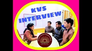 KVS #Interview Classes : #kendriya #vidyalaya #school interview