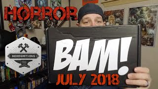 Unboxing The BAM July 2018 Horror box