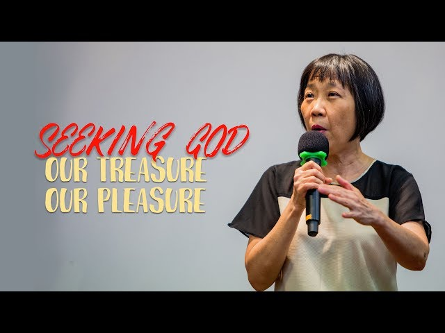 Anna: Seeking God - our treasure.our pleasure