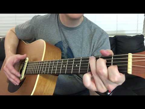 All I Want - Kodaline - Easy Guitar Lesson Count and Rhythm