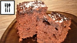 Кекс шоколадный с пропиткой. Простой рецепт как приготовить кекс. Islak kek nasil yapilir